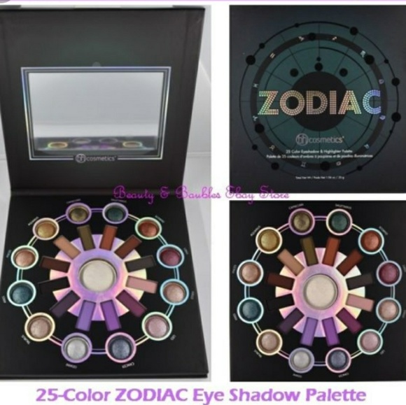 Zodiac 25 Color Eyeshadow And Highlighter Palette by BH Cosmetics #20